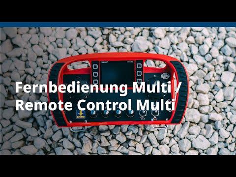 BAUER Maschinen GmbH – Fernbedienung Multi / Remote Control Multi