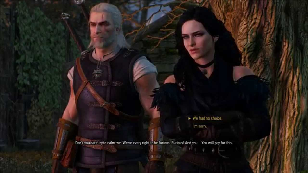 The Garden Of Freya And More Ciri Time Witcher 3 36 Youtube