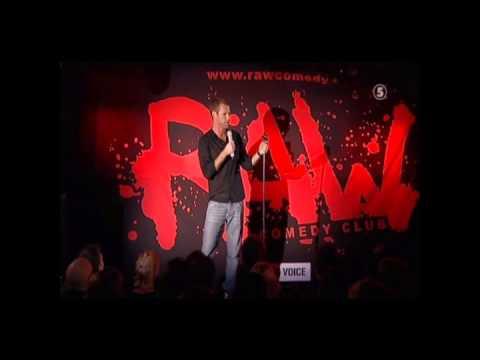 Mårten Andersson  Om Thailand Raw Comedy Club