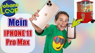 IPHONE 11 PRO MAX Kostenlos aus dem Kaugummiautomaten | Johann Loop