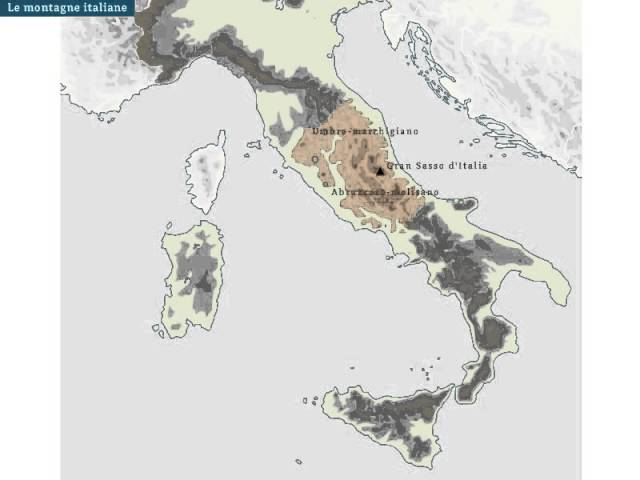 Cartina Dell Italia Alpi E Appennini.Le Montagne Italiane Tratto Da La Geografia Per Tutti Youtube
