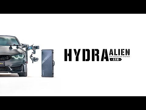 Hydra Alien Car Mounting System & Motorized Slider with DJI RS 2