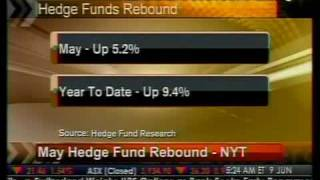 May Hedge Fund Rebound - NYT - Bloomberg