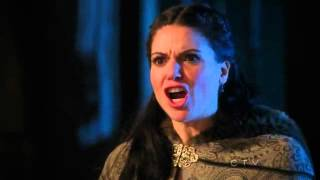 "Once Upon A Time 1x18 ""The Stable Boy"" Cora kills Daniel in front of Regina"