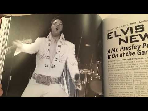 Elvis Presley At Madison Square Garden FTD Book. The King's Court.