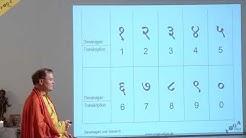 Devanagari lernen– Einführung, Alphabet, Konsonanten + Vokale, Übungen – YVS195 – Sanskrit – Teil 38