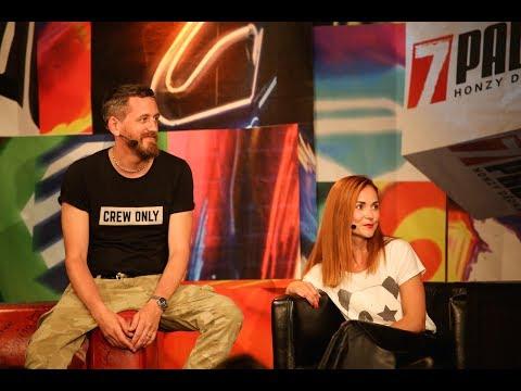 7 pádů HD: Radka a Tomáš Třeštíkovi (13. 6. 2017, Malostranská beseda)