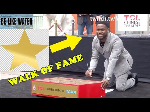 Kevin Hart's Walk Of Fame STAR!!! - The Rock & Will Ferrell