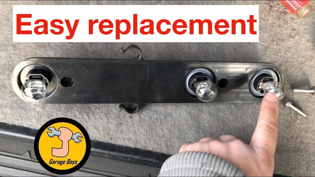 hight resolution of how to replace brake light on dodge nitro