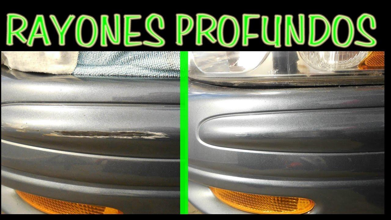 Como reparar rayones profundos en la pintura resultado - Quitar rayones coche facilmente ...