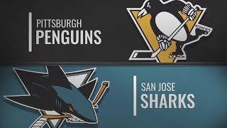 Сан-Хосе vs Питтсбург | Pittsburgh Penguins at San Jose Sharks | NHL HIGHLIGHTS | НХЛ ОБЗОР МАТЧА