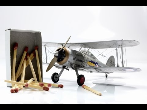 Gloster Gladiator Mk.I 1/72 Airfix  - step by step
