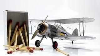 Gloster Gladiator Mk.I 1/72 Airfix  - WW2 Aircraft Model