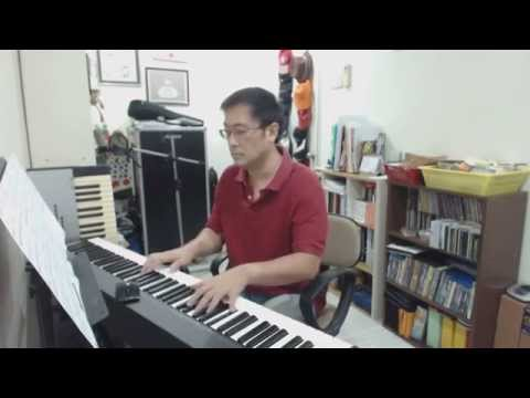 TVB Empress of China 武則天 Theme Song - Queen女皇- Joey Yung 容祖兒 - Piano Cover and Sheet by Hou Yean Cha