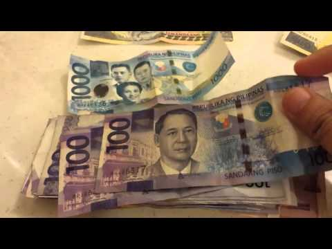 Philippine Peso Bills フィリピン・ペソ 紙幣