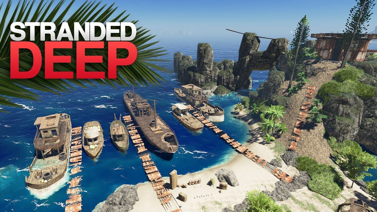 EXPLORING AN ABANDONED HARBOR! Stranded Deep S4 Episode 5 - YouTube