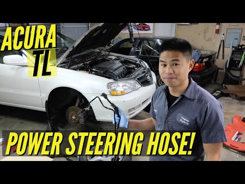 2002 Acura TL Power Steering Leak | Hose Replacement
