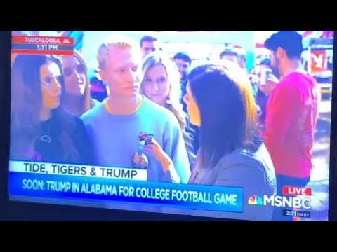 Alabama Student Stays He's A Trump Supporter Because Jeffrey Epstein Killed Himself