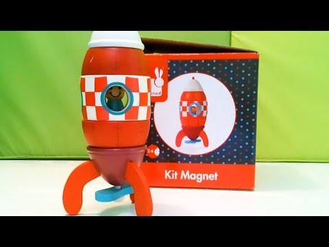 Janod Magnetic Wooden Rocket Review