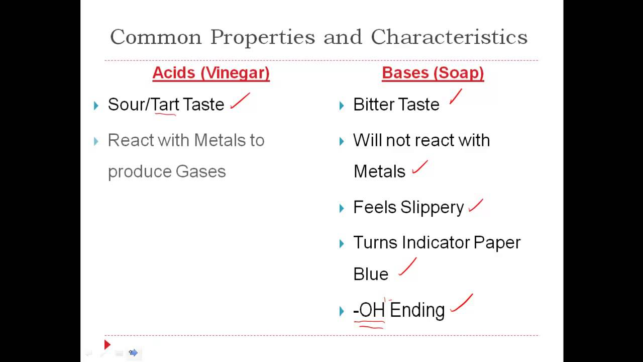 bases properties