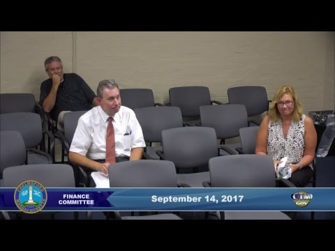 Chelmsford Finance Committee Sept. 14, 2017