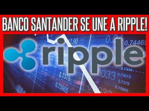 Banco Santander se une a Ripple para Agilizar Pagos #Bitcoin #Ethereum #Ripple #Cardano #Litecoin