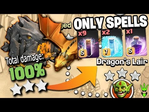 100% ON DRAGONS LAIR USING ONLY SPELLS! Featuring *NEW* BAT SPELL! -