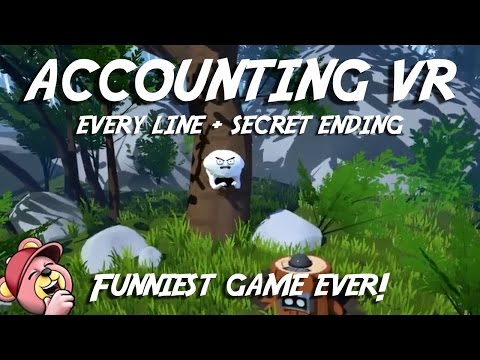 ACCOUNTING VR (All Dialogue, No Commentary) Best HTC Vive Ga