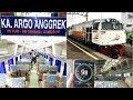Trip by Train - Naik Kereta RAJA NGEBUT Argo Bromo Anggrek