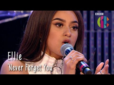 Zara Larsson 'Never Forget You' cover by Ellie   CBBC