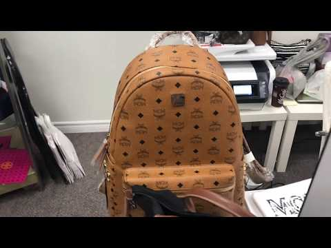 LUXURY ON A PAYMENT PLAN   MCM STARK BACKPACK   THRIFTING MATT AND NAT