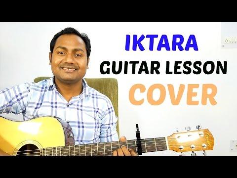 Iktara | Tochi Raina | Easy Guitar Lesson | Chords | Strumming | Cover | Mayoor