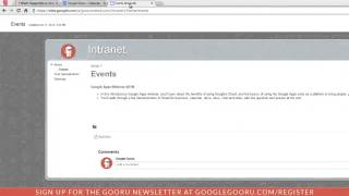How to Publish a Google Calendar Event to your Website