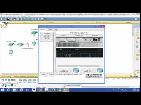 Configuración de RIPng para redes IPv6.  By Pepe