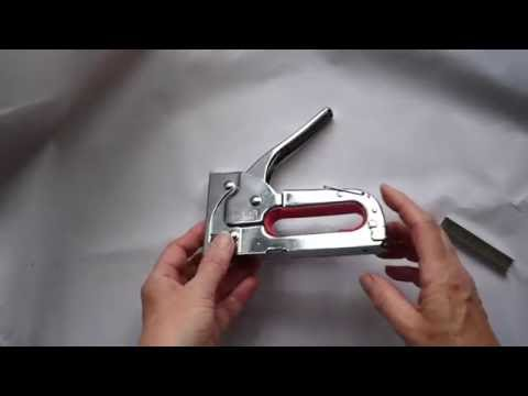 How To Put Staples in a Heavy Duty Blackspur Stapler