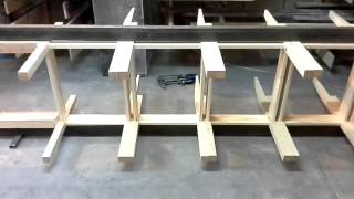 видео Склейка стульев