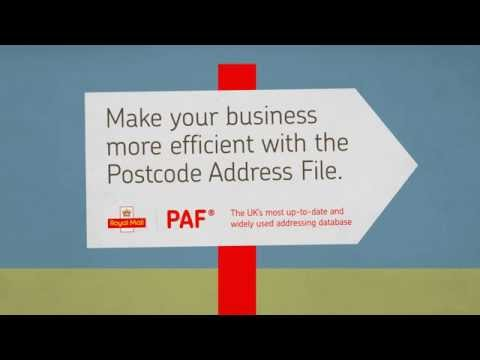Make your organisation more efficient with the Postcode Address File (PAF)