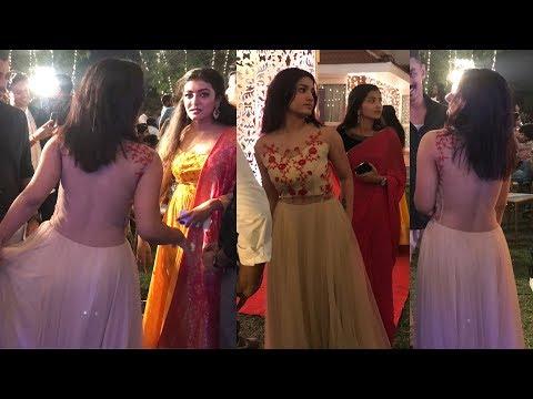 കിടിലന് ലുക്കില് സാനിയ | Saniya Iyappan at Sunny Wayne wedding reception