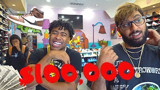 @Prettyboyfredo GOES SHOPPING For Sneakers Spends $100,000!!! (SHOE GIVEAWAY)