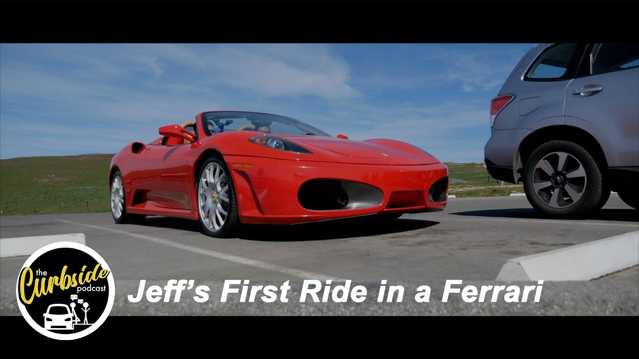 Jeff's First Time in a Ferrari! - 2005 F430 Spider