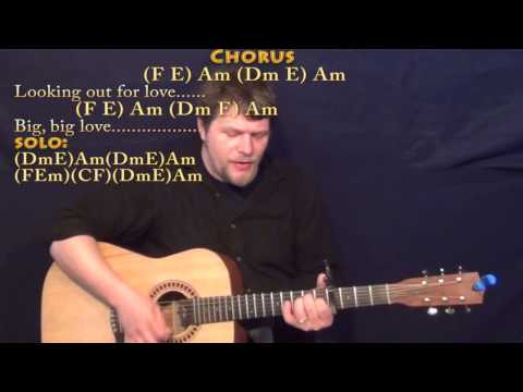 Big Love (Fleetwood Mac) Strum Guitar Cover Lesson with Chords/Lyrics