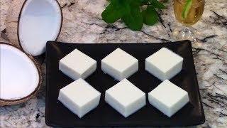 How to Make Coconut Cream Pudding - Panna Cotta de Coco