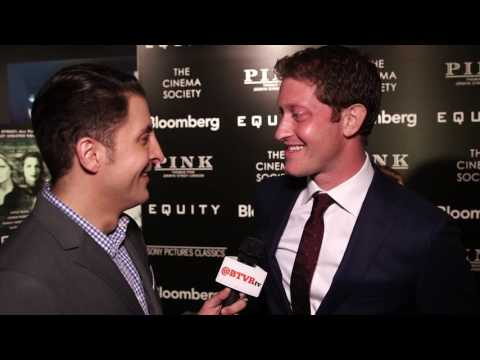 """Samuel Roukin at the """"Equity"""" NY Premiere Behind The Velvet Rope with Arthur Kade"""