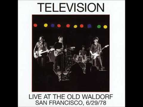 Television- Marquee Moon (Live at the Old Waldorf, 1978)