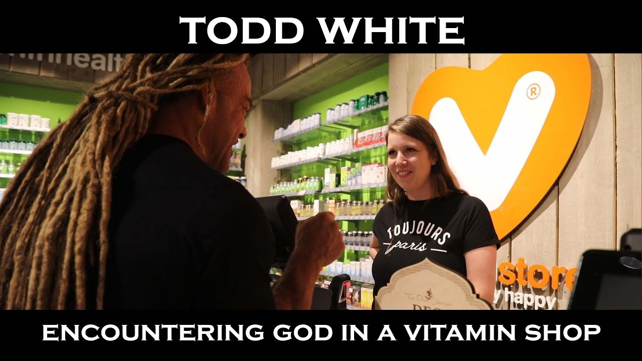 Todd White - Encountering God in a Vitamin Shop