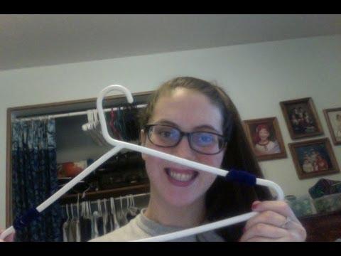 DIY: NonSlip Clothing Hangers