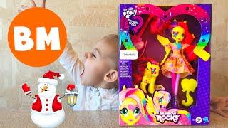 ВМ: Моя маленькая пони и кукла | Hasbro Fluttershy My little pony and doll set
