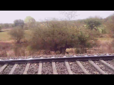 Kolkata Mail 12322- Speeding After Itarsi Junction.