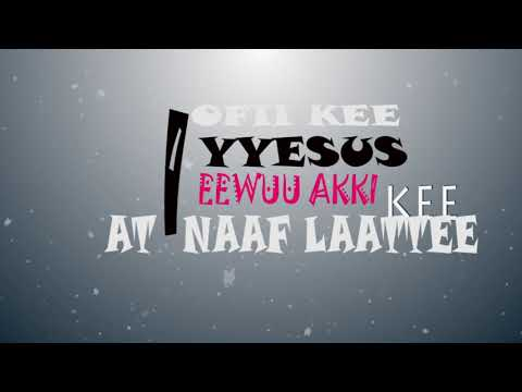 jaalalli kee na dhibee New Megersa bekele with lyrics by lelisa studio 2017HD