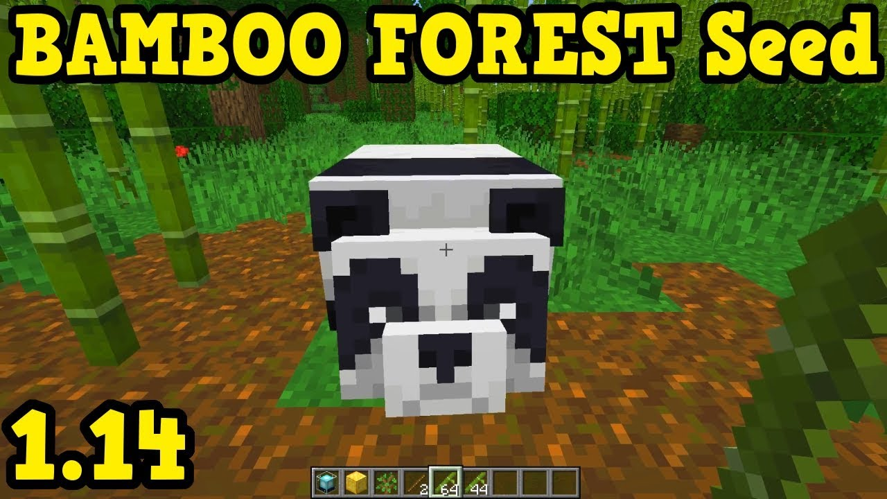 Minecraft 1 14 Bamboo Forest Seed Youtube